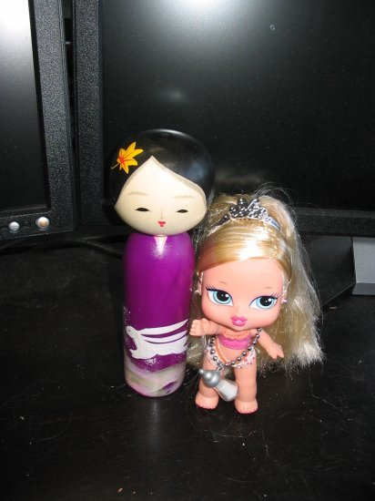 Kokeshi doll from Jo