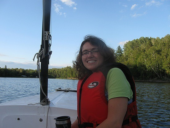 Me on a boat again