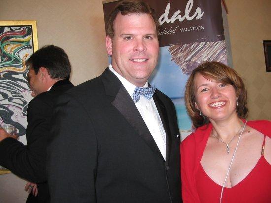Me and Environment Minister JOHN BAIRD