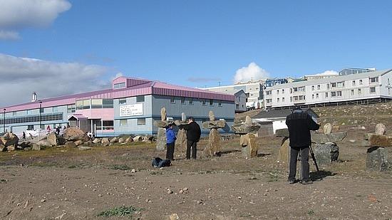 Camera crew at Arctic College