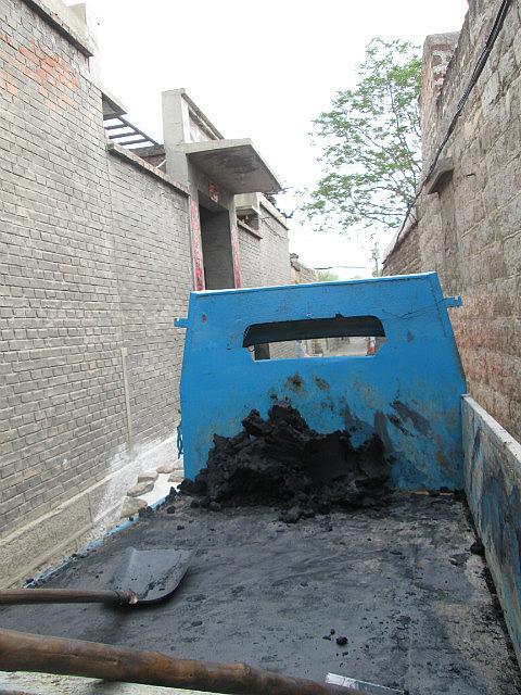 Yujiacun coal delivery