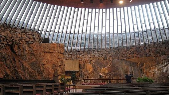 Stone church in Helsinki