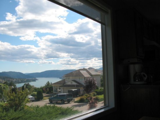 View from KJ's kitchen
