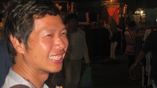 Yui smiles