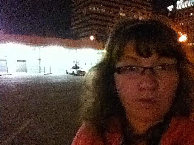 Me vs. bus depot