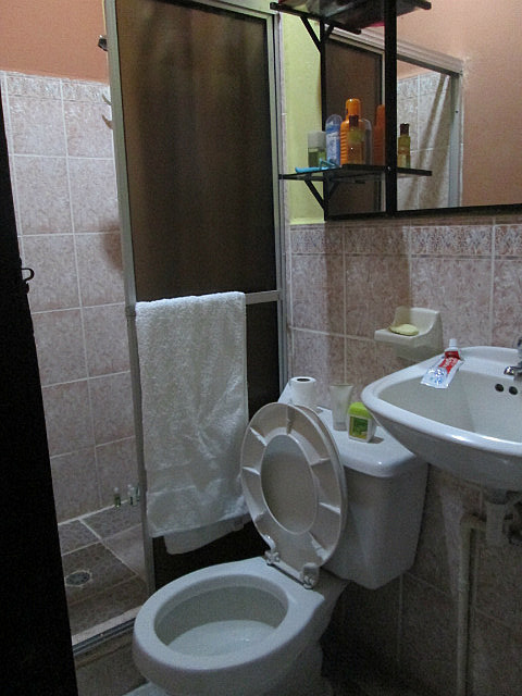 Bathroom, separate toilet!! Yes!!!
