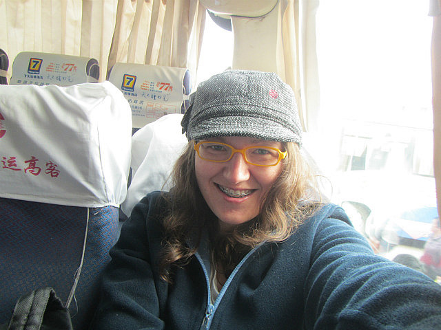 On the bus to Wuyuan