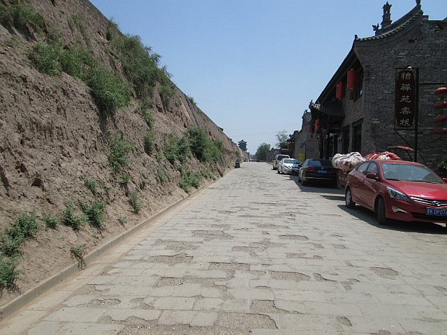 Pingyao rammed earth wall