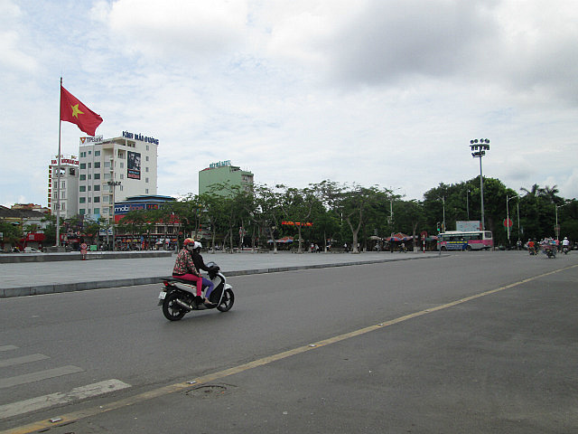 Big Vietnamese flag