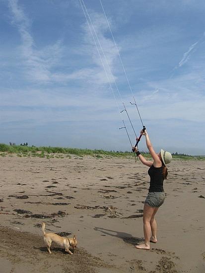 Shylo vs. power kite