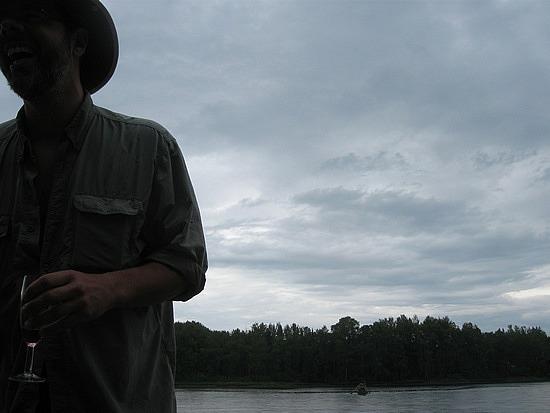 Claude at the lake