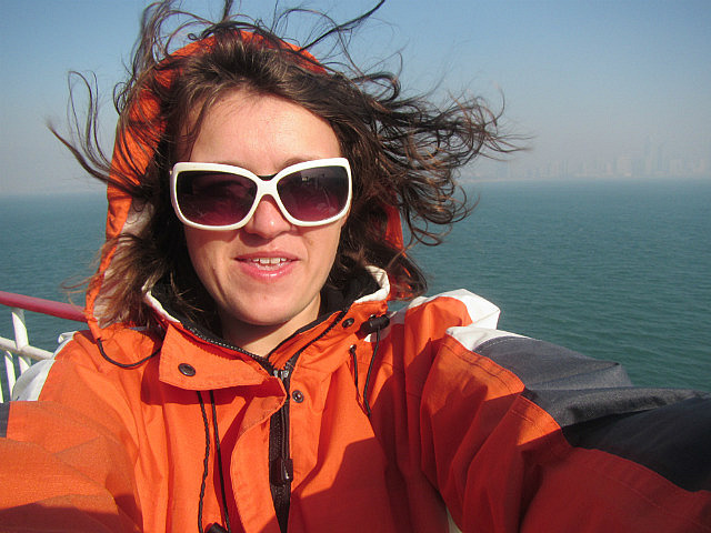 It's windy here