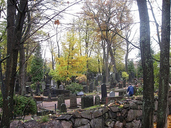 The graveyard again