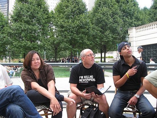 Jen, Gary, Ian