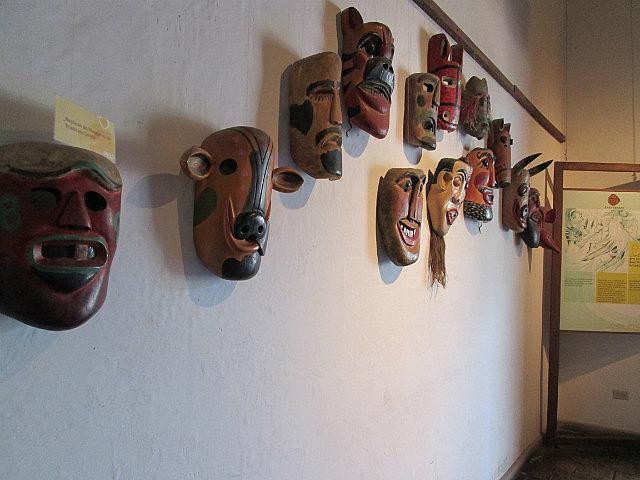Some Lenca masks