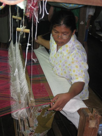 Silkweaving