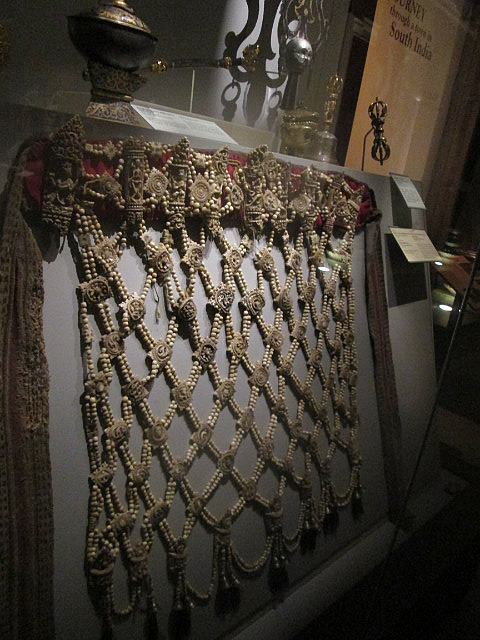 Apron made from human bones
