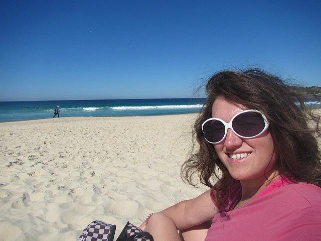 Me on Bondi Beach!