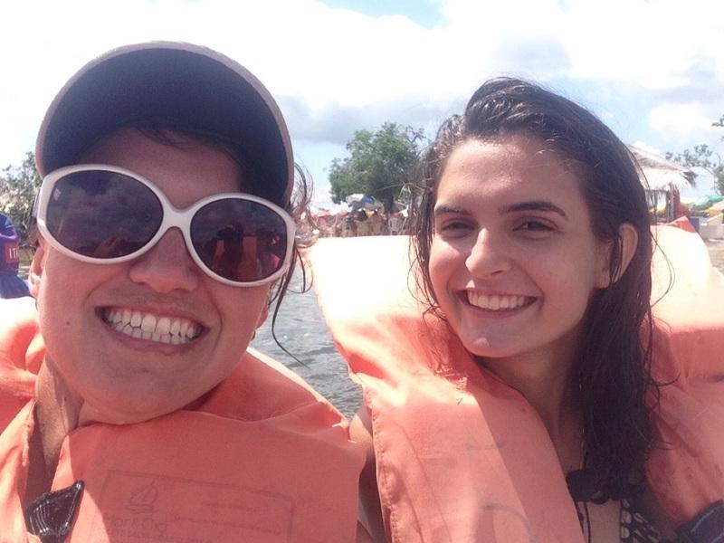 Me and Daniella