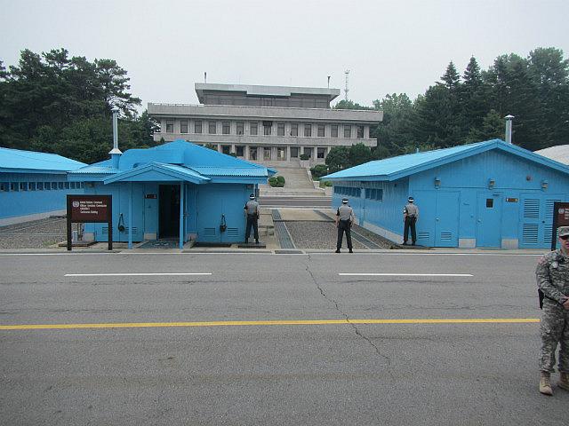 North Korean building