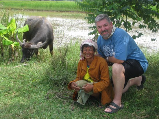 Water buffalo guy and Alan