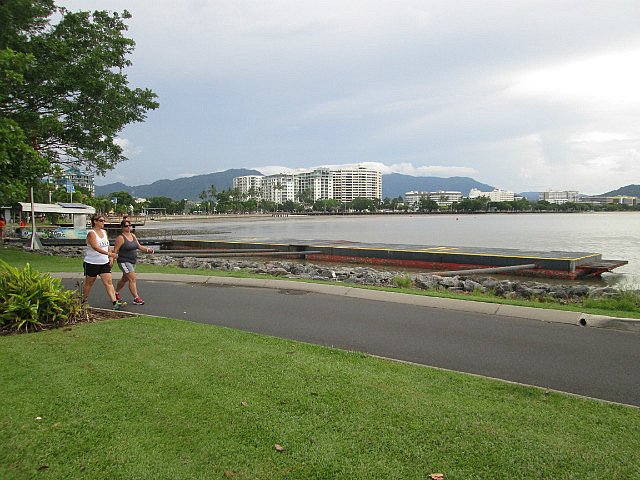 The Esplanade boardwalk