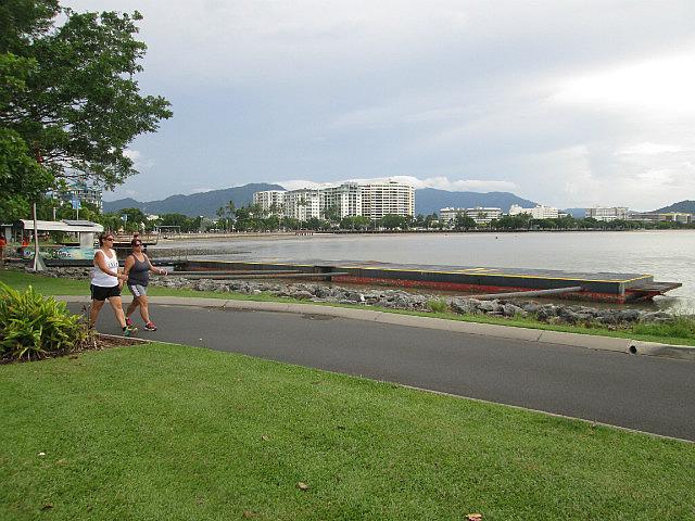 The Esplanade boardwalk