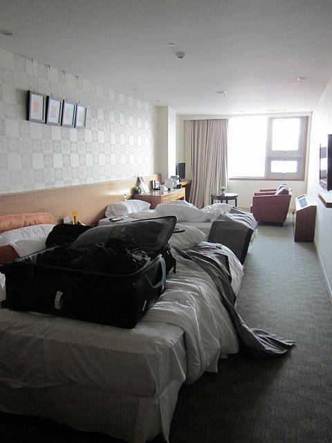 PJ Hotel room
