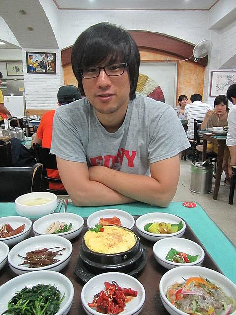 Wookang and kimchi
