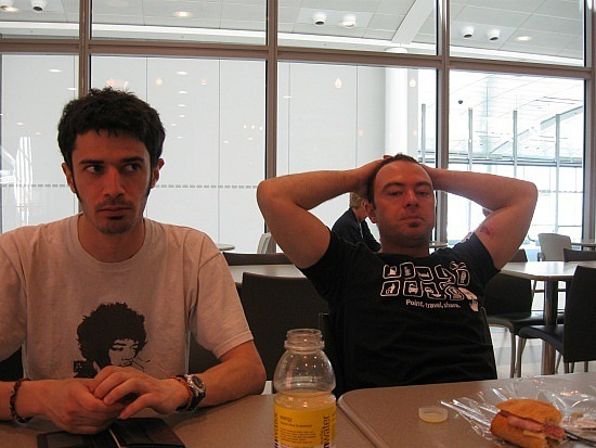 Sylvain and Ryan, YYZ