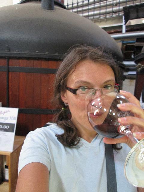 Me vs. Penfold's wine