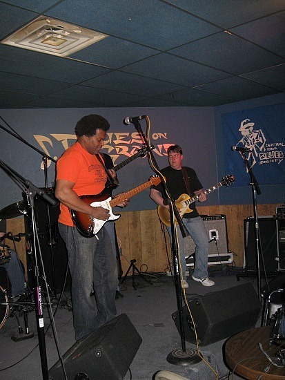 The blues band at Blues on Grand
