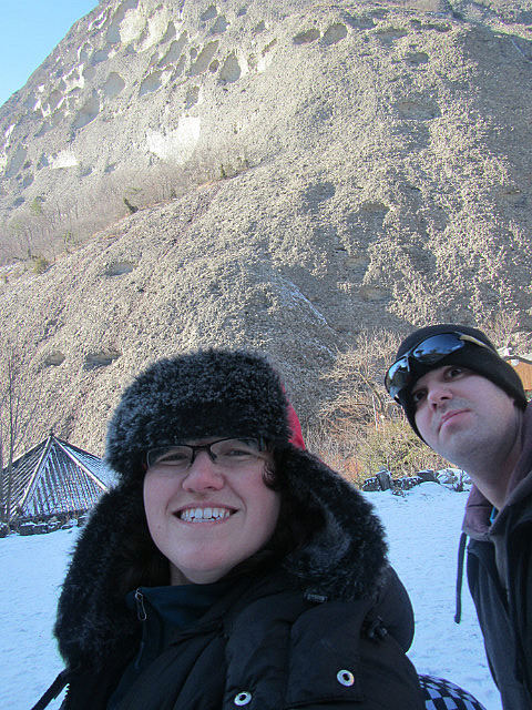 Me and Dave and the mountain