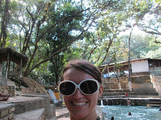 Me vs. hot spring