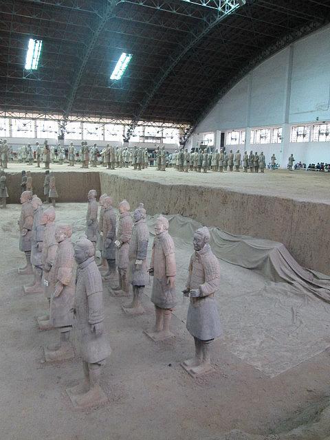 Terracotta warriors Pit 3