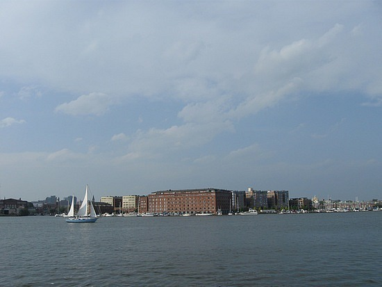 Baltimore from Tide Point