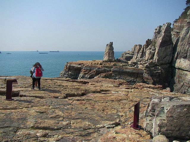 Taejongdae rocks