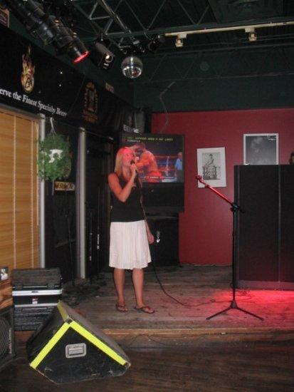 Karaoke Sarah