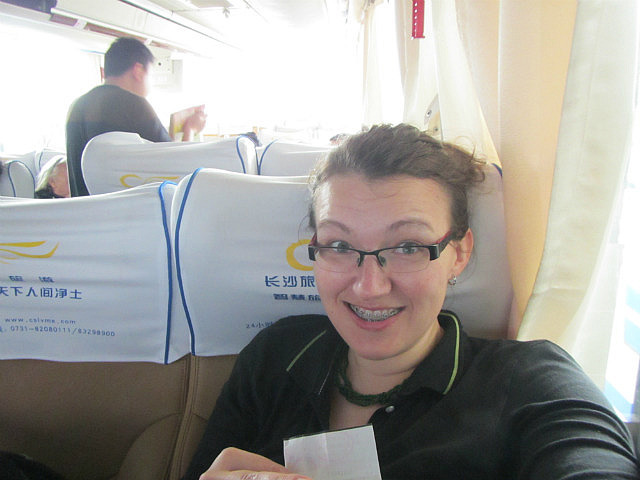 The classy bus to Jingdezhen