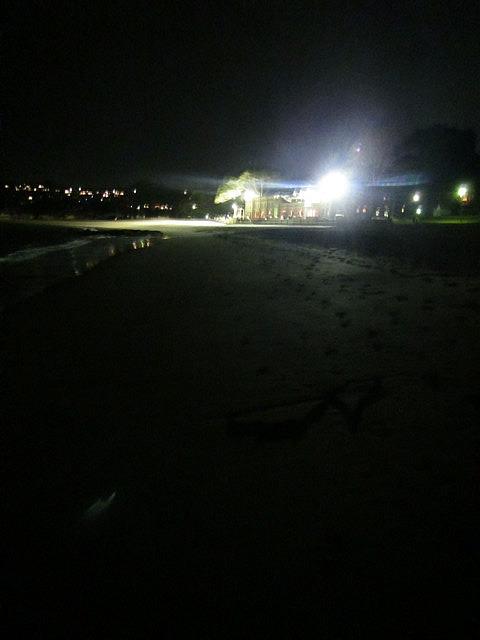 Brightest light on Balmoral beach