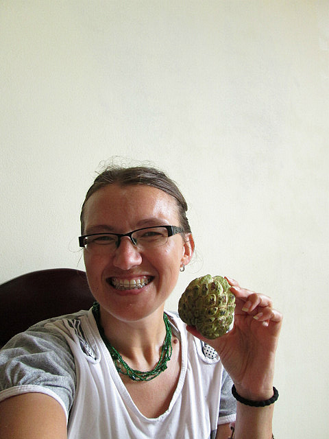Me vs. custard apple