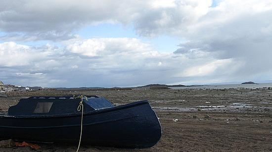 Cool boat shot, Frobisher Bay
