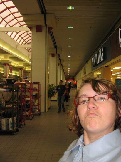 Depressing mall