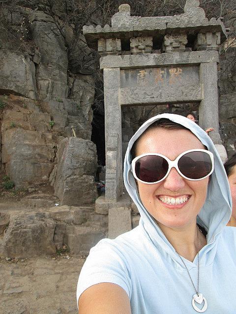 Me at Bodhi dharma cave