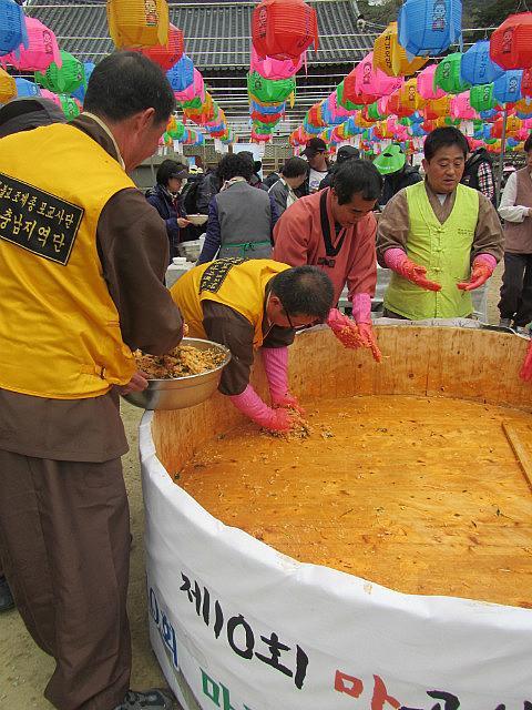 Massive bowl of bibimbap