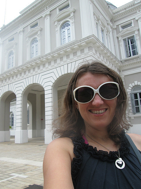 Me at National Museum of Singapore