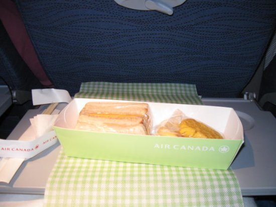 More food on Tokyo flight