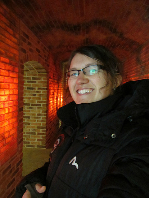 I'm in a kiln!