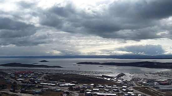 Iqaluit from the hill