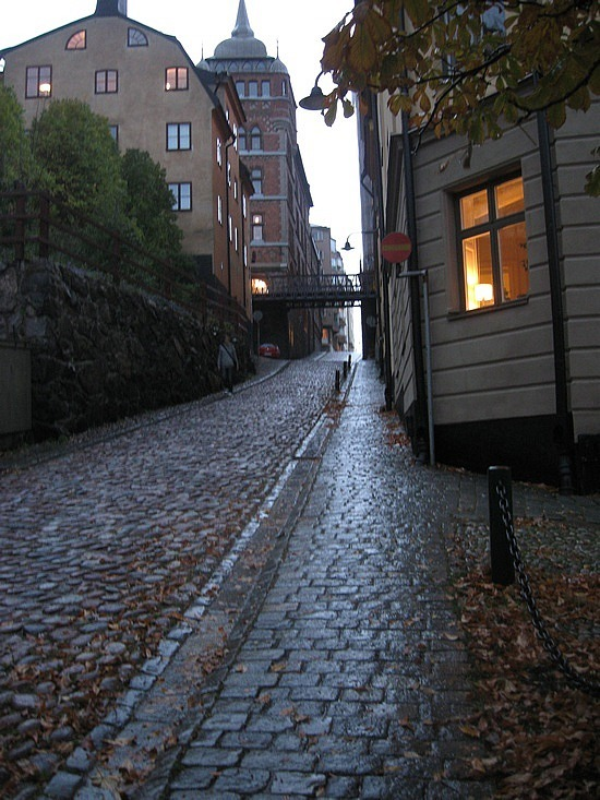 More steep streets